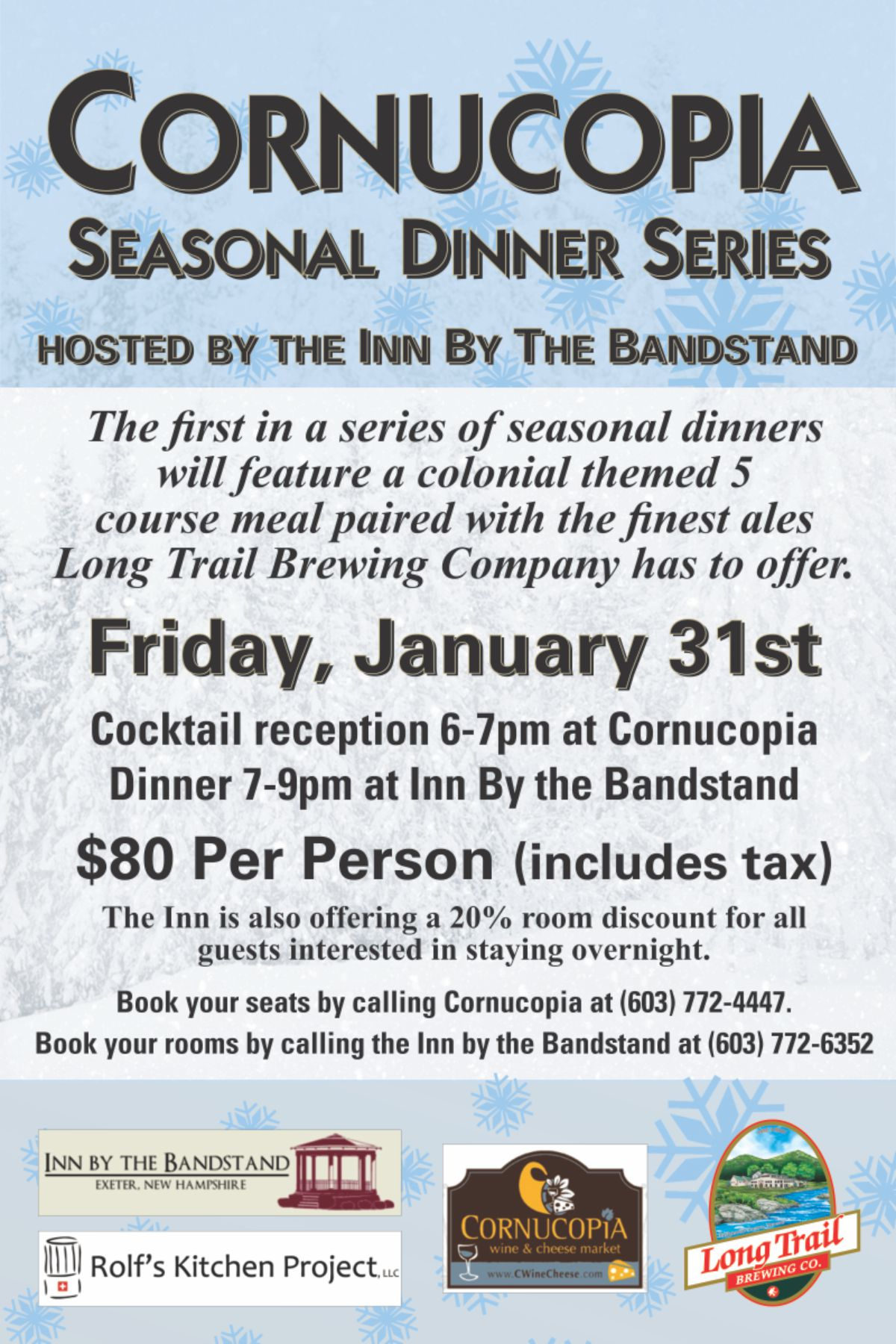 Local Events for January 2014
